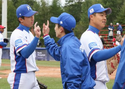 20170907 U-18 Baseball World Cup Korea celebrate win (James Mirabelli-WBSC)