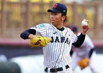 20170907 U-18 Baseball World Cup Isomura Japan (Chriastian J Stewart-WBSC)