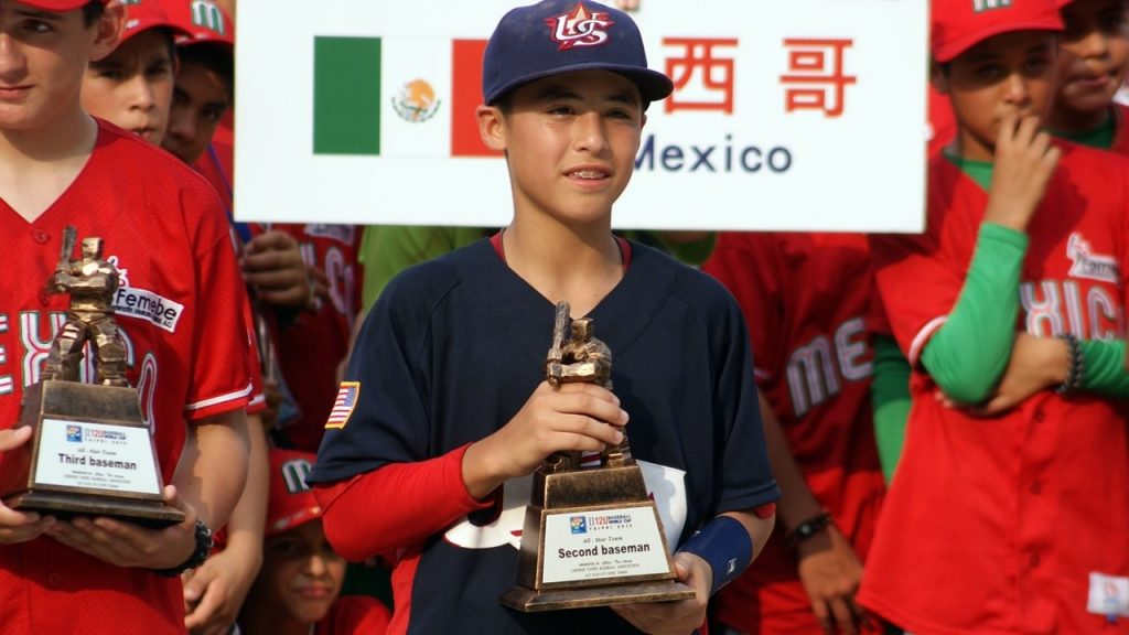 Anthony Volpe at the U-12 Baseball World Cup