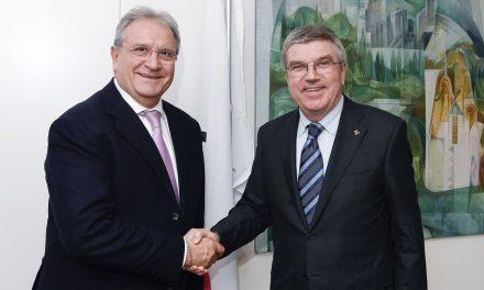 IOCとWBSCの両会長が会談 野球・ソフトボールのグローバル発展、オリンピックについて語る