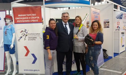 Serbia promotes Softball at National Youth and Sports Fair