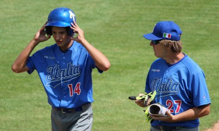 The U-15 Baseball Euros down to last games of pool play
