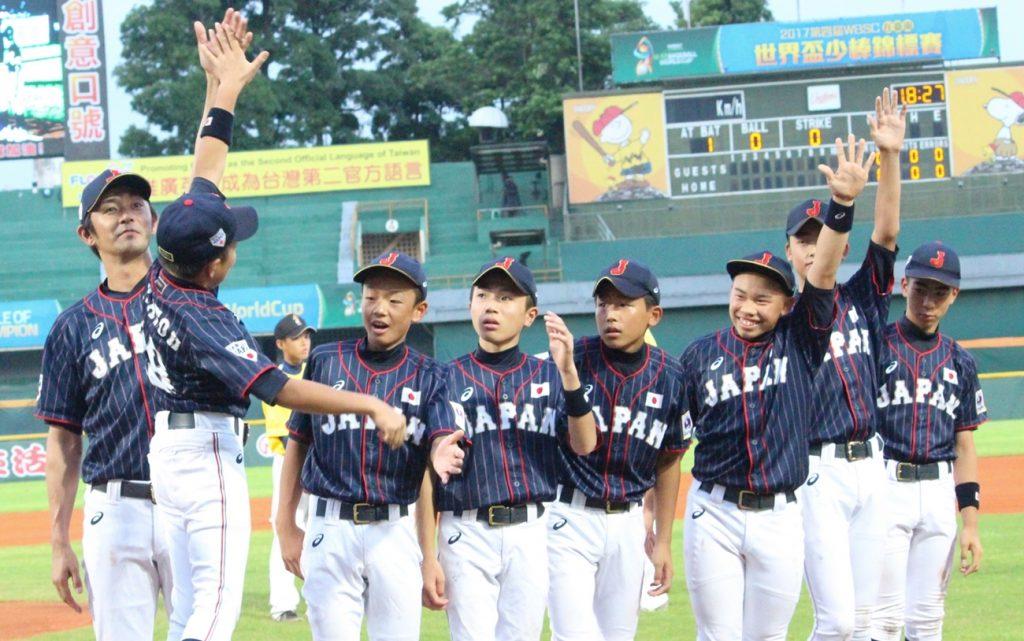 日本、中華隊及墨西哥晉級到U12少棒世界盃下一輪賽事