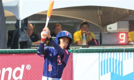U-12 ベースボールワールドカップ・スーパーラウンド第一日目 チャイニーズタイペイがアメリカに完勝