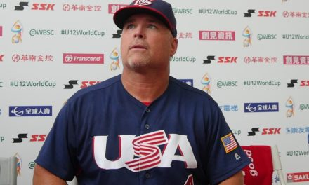 """David Sharp: """"We came here to win the U-12 Baseball World Cup for our country"""""""