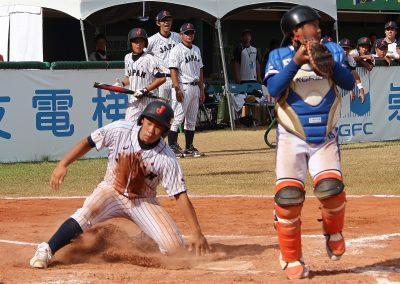 20170805 U-12 Baseball World Cup Japan scores against Korea