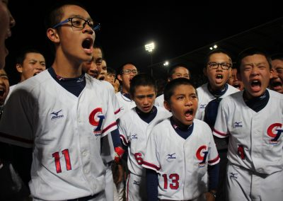 20170806 U-12 Baseball World Cup Chinese Taipei after listening to coach farewell speach after final
