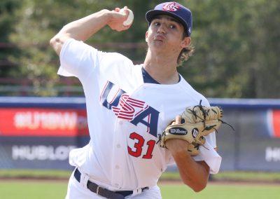 20170901 U-18 baseball World Ethan Hankins USA (James Mirabelli WBSC)
