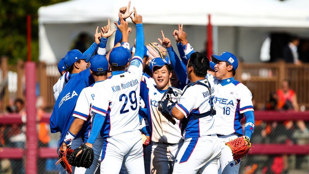 Corea vence a Japón, se enfrentará a Estados Unidos en la final de la Copa Mundial de Béisbol Sub-18
