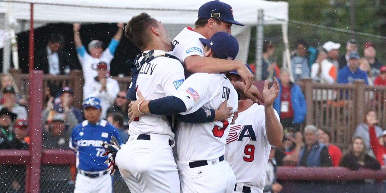 アメリカがU-18 ベースボールワールドカップ4回連続優勝
