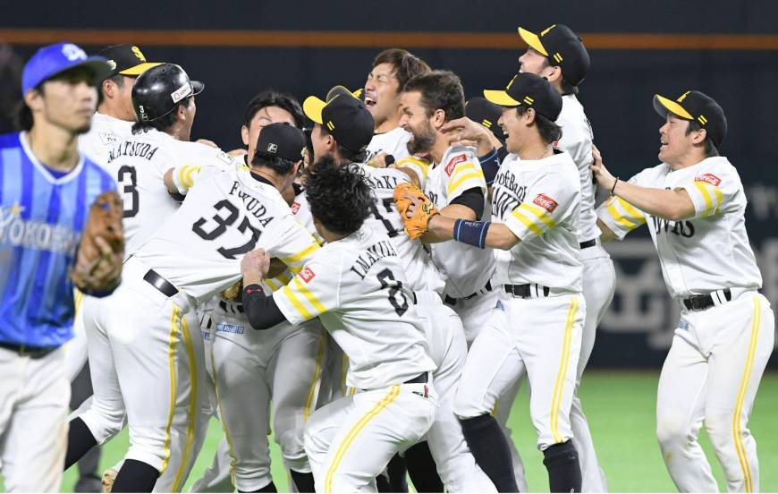 Con una remontada en la 11ª entrada, los Fukuoka Hawks se adjudican la Serie Japón de la NPB