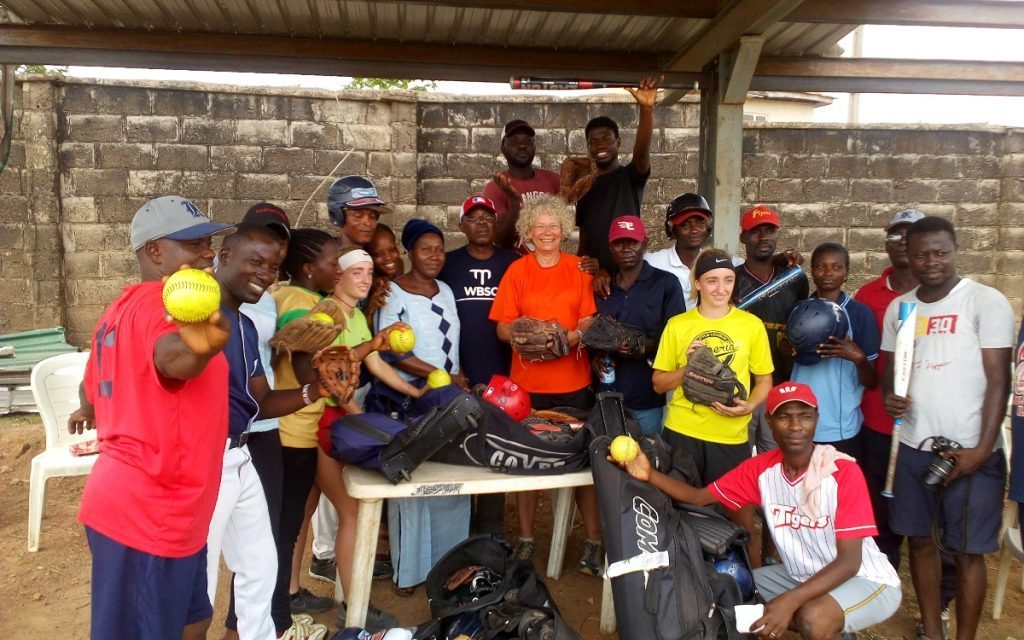 Nigeria works hard to develop baseball and softball