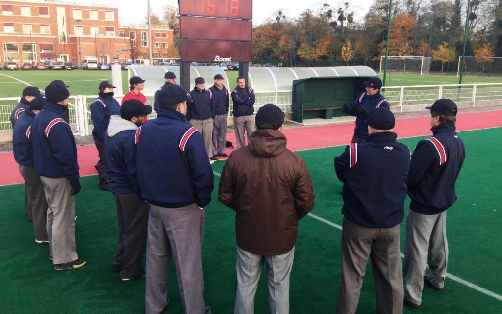 La Asociación de Habla Francesa organiza clínic de arbitraje de béisbol y softbol en París