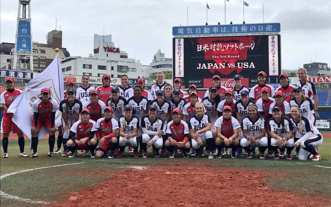 No. 1 Japan wins USA v Japan All-Star Softball Series with dramatic walk-off grand slam