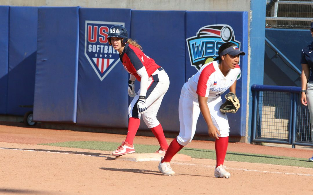 USA and Japan advance to World Cup of Softball Championship Game