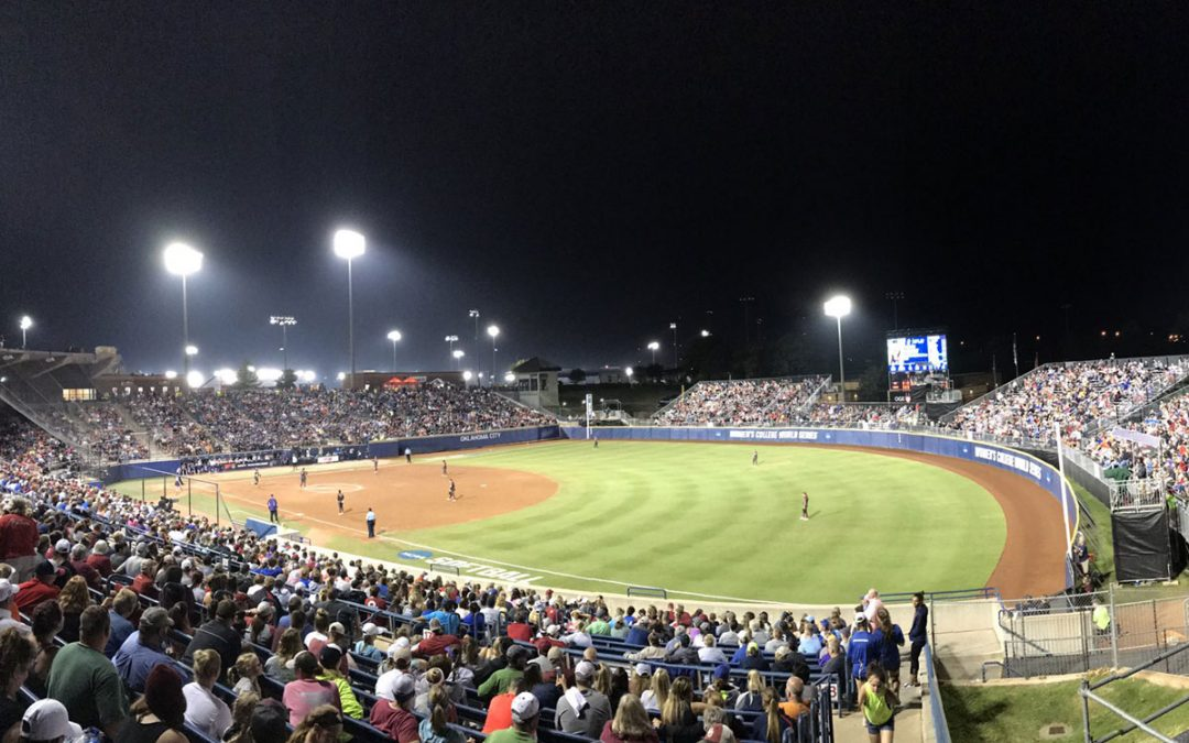 Largest university softball championship sees record viewership