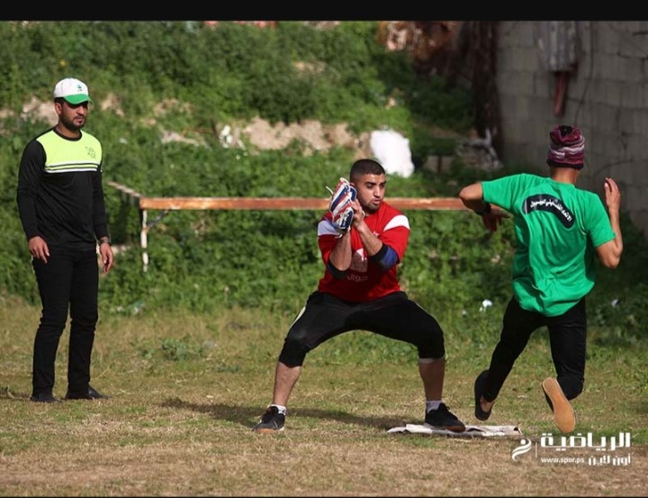 Action in the January Baseball Cup, Gaza Strip