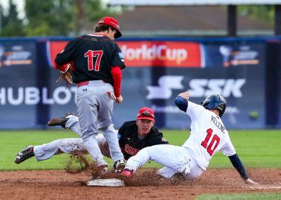20170907 U-18 Baseball World Cup Julien WIllow Canada Kelenic USA (Christian J Stewart)