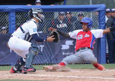 20170905 U-18 Baseball World Cup Banfield USA Gonzalez Fuentes Cuba (James Mirabelli-WBSC)