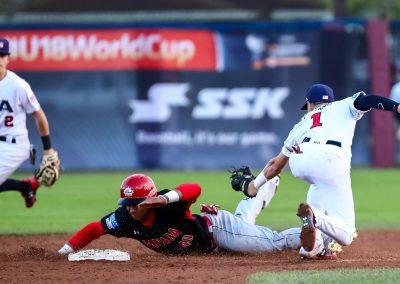 20170907 U-18 Baseball Workd Cup Young USA Keyes Canada Turang USA (Christian J Stewart-WBSC)