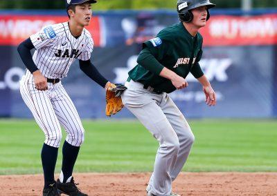20170907 U-18 Baseball World Cup Kozon Japan Australia runner (Christian J Stewart-WBSC)