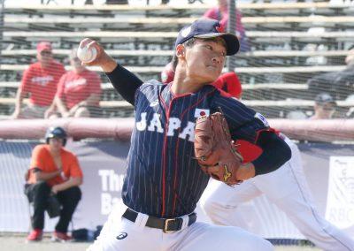 20170910 U-18 Baseball World Cup Ginji Miura Japan (Christian J Stewart)