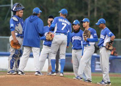 20170907 U-18 Baseball World Cup Nicaragua trouble vs Netherlands (James Mirabelli-WBSC)