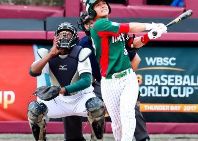 20170906 U-18 Baseball World Cup Martin Perez Mexico Home Run (Christian J Stewart-WBSC)