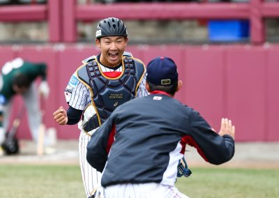 20170907 U-18 Baseball World Cup Yuto Koga Japan celebrates win against Australia (Christian J Stewart-WBSC)