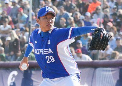 20170910 U-18 Baseball World Cup gold medal game Kim Young Jun Korea (James Mirabelli-WBSC)