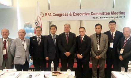 台湾の彭誠浩氏がアジア野球連盟会長に再選出