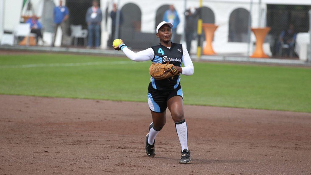 南アフリカとボツワナが日本で開催のWBSC世界女子ソフトボール選手権2018にむけ強化試合