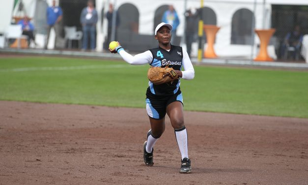 Botswana, South Africa tune up together for WBSC Women's Softball World Championship 2018 in Japan