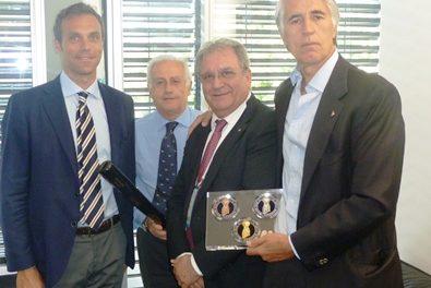 El Presidente de la IBAF Riccardo Fraccari, en la Asamblea General de la ANOC
