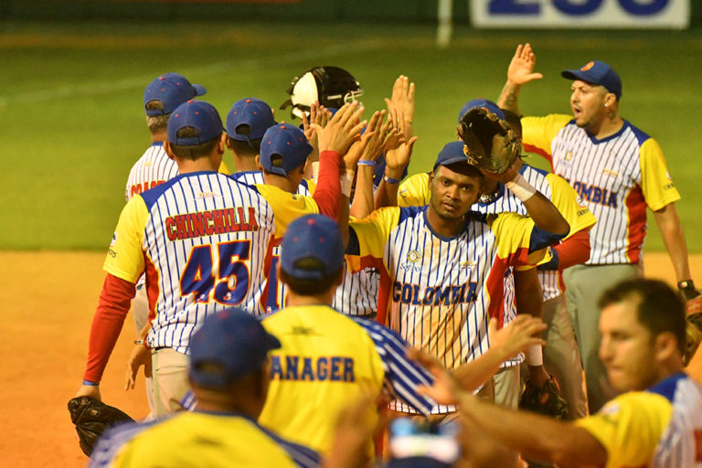Big win for Colombia at Pan American Men's Softball Championship