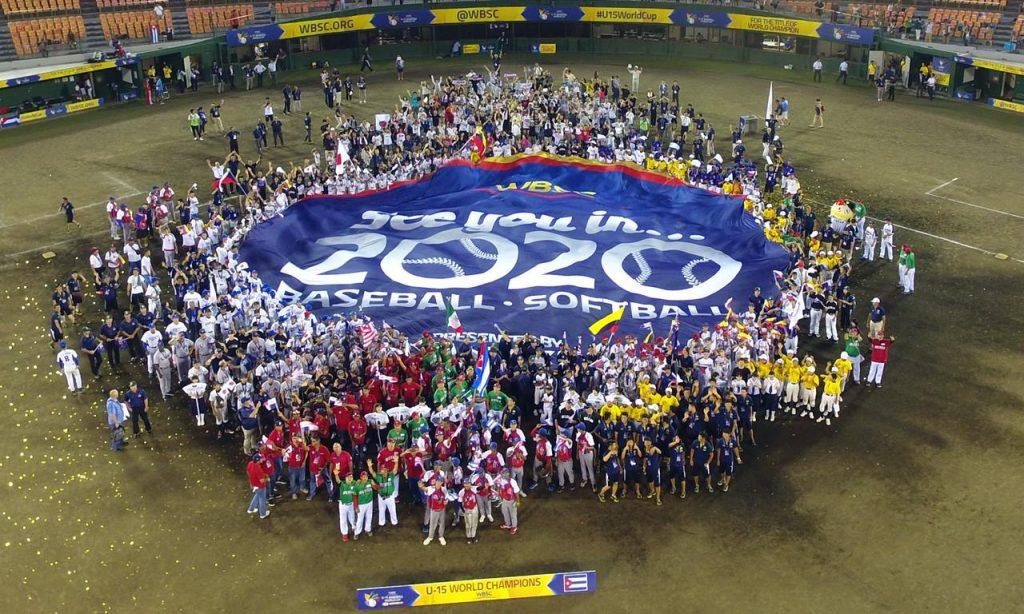 動画:U-15ワールドカップ 次世代のスターたちが野球・ソフトボールのオリンピック復帰を祝す