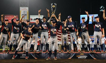 U.S. defeats Japan in electric finale to win WBSC U-18 Baseball World Cup in Osaka