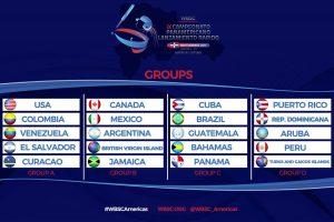 Se anunciaron los grupos del Campeonato Panamericano de Softbol Femenino 2017
