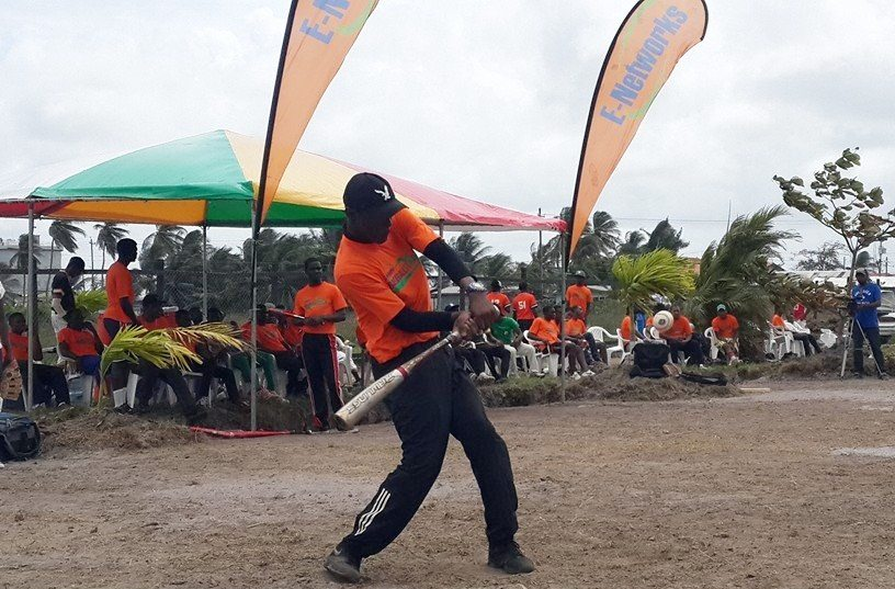 Gbl Hd: Guyana Baseball Federation Partners With E-Networks To