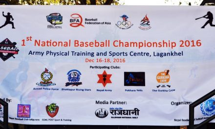 Nepal staging first-ever National Baseball Championship as global growth of baseball-softball continues