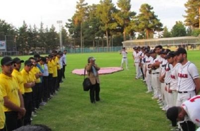 The North Conference games of Iran's 2013 Baseball Club Championship Tournament