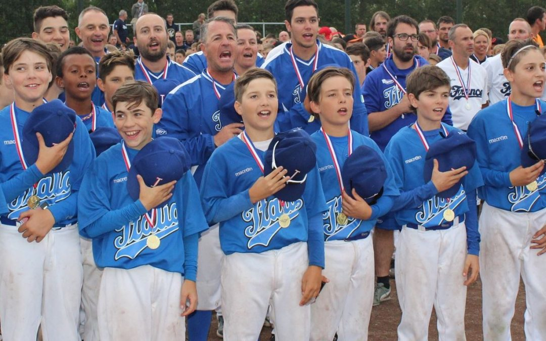 Italy defeats France in Final to win U-12 Euro Baseball Championship