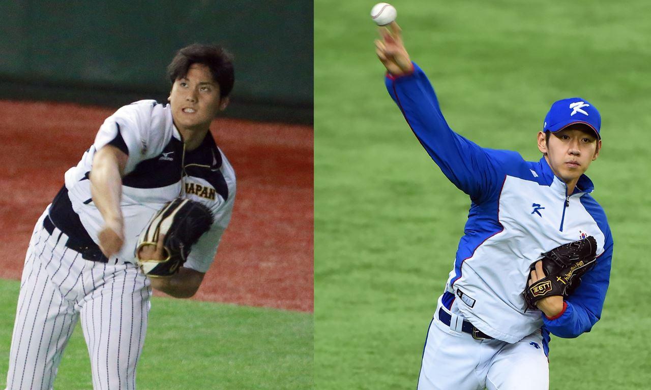 Ohtani, Rhee starting pitchers of Japan vs South Korea Premier12 semifinal