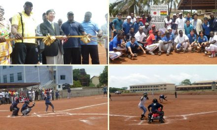 Japan presents Ghana with first-ever National Ballpark