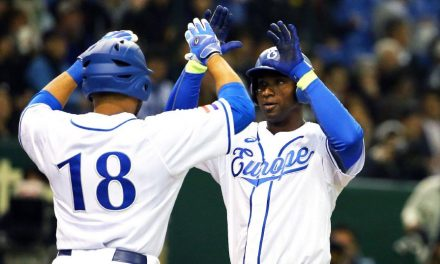 Europe gets historic victory, defeats No. 1 Japan 6-2 in global baseball showing in Tokyo