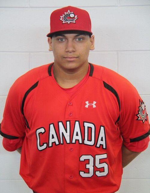 Josh Naylor Canada uniform