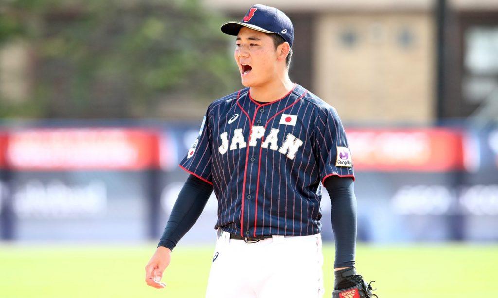 3 Samurai Japón estrellas de la Copa Mundial de Béisbol Sub-18 seleccionadas en la 1ª ronda del Draft NPB