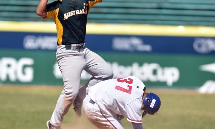 Australia records first-ever triple play in history of U-23 Baseball World Cup!