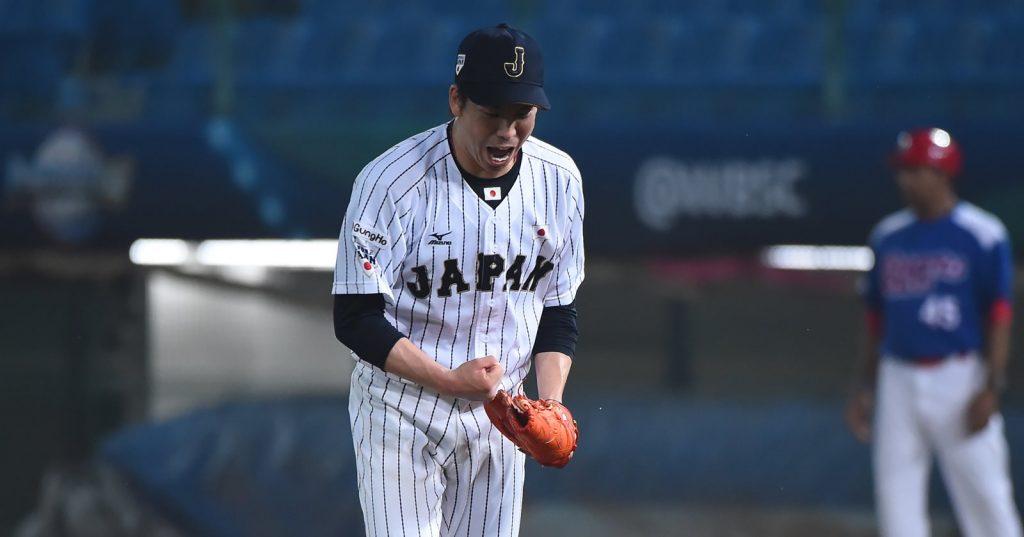 侍ジャパンの前田健太投手が、初ホームランで大リーグデビュー戦勝利 - ビデオ