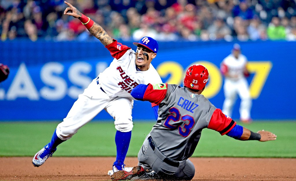 World Baseball Classic: Puerto Rico wins intense rematch with Dominican Republic